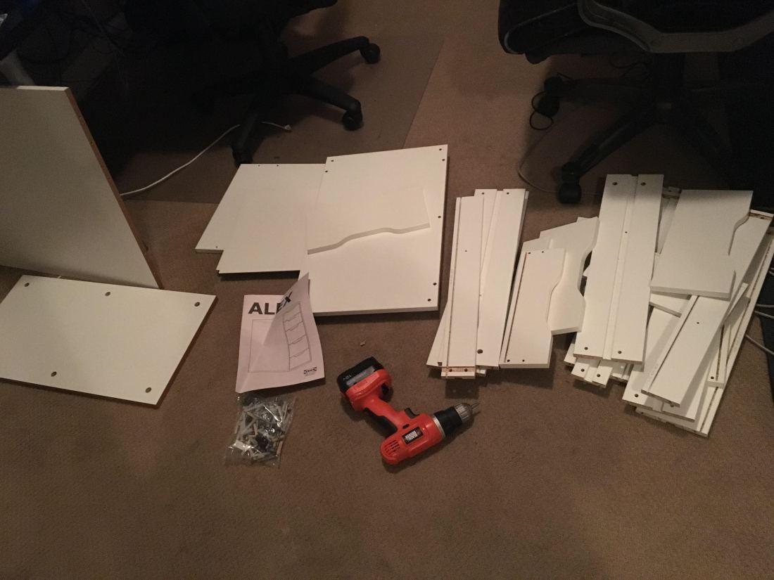 Ikea pieces